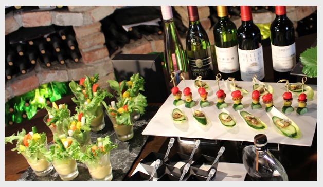 圃場とワイン